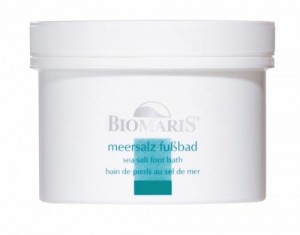 Sól do kąpieli stóp BIOMARIS sea salt foot bath 300 g